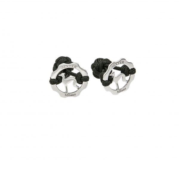 Gemelli simbolo levriero e filo nero