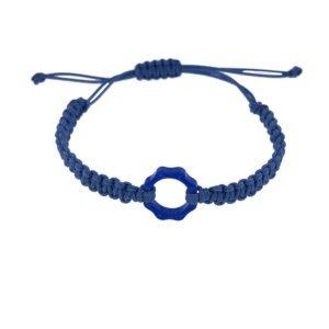 Bracciale Mini plexy colorato blu