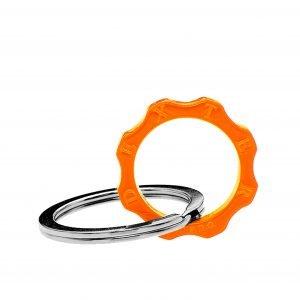 Portachiavi Classico plexyglass arancione