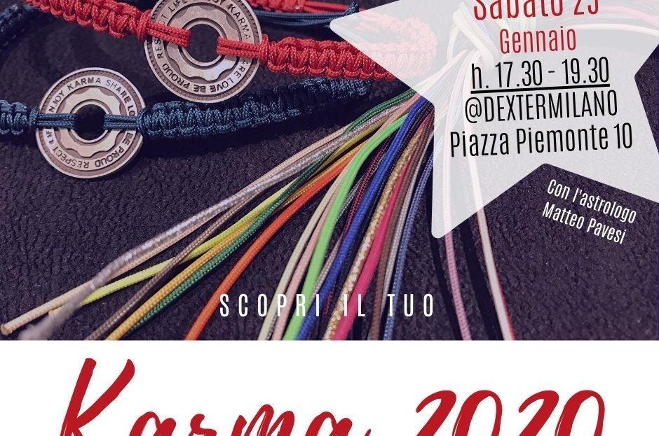 EVENTO KARMA da DEXTER Milano boutique