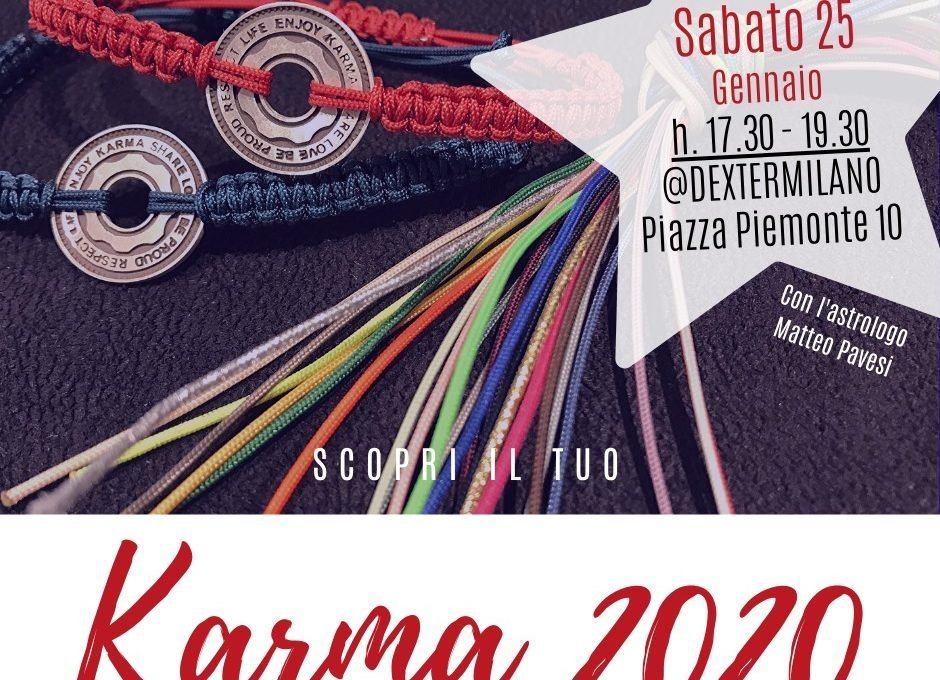 Evento Karma 2020 Dexter