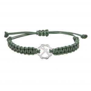 Bracciale simbolo Libellula verde salvia